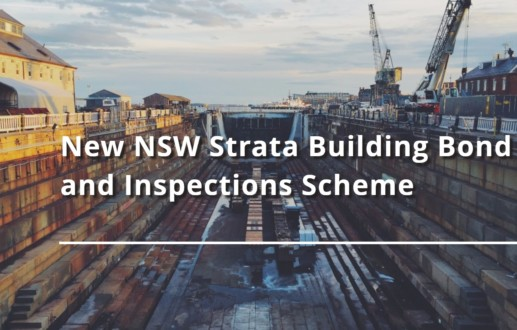New NSW Strata Building Bond and Inspections Scheme