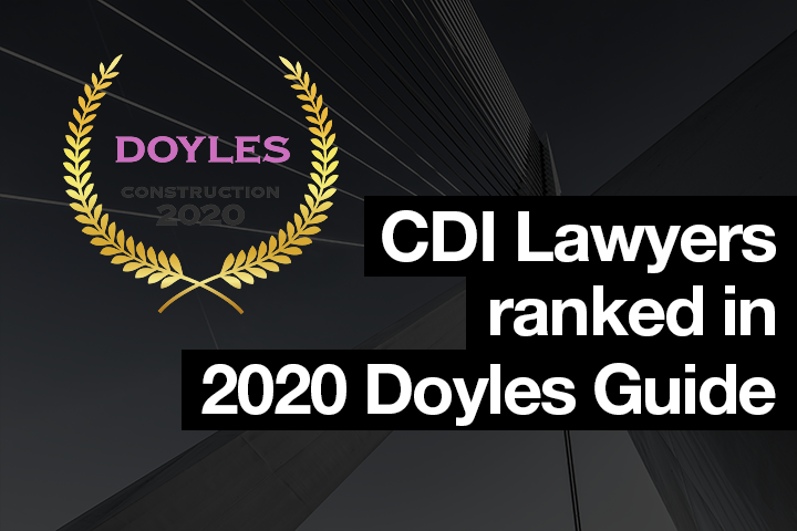 CDI Lawyers ranked in 2020 Doyles Guide