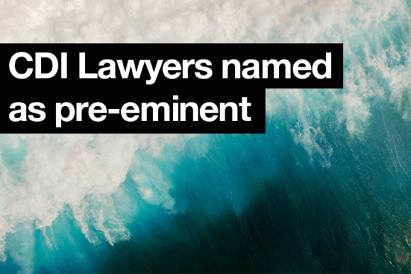CDI Lawyers ranked as pre-eminent