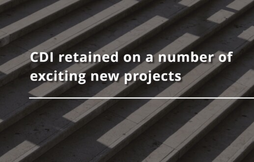 CDI retained on a number of exciting new projects