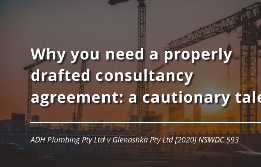 Why you need a properly drafted consultancy agreement: a cautionary tale