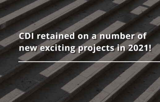 CDI retained on a number of new exciting projects in 2021!