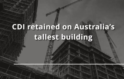 CDI retained on Australia's tallest building