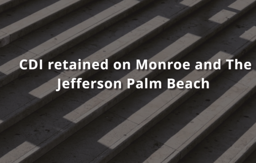 CDI retained on Monroe and The Jefferson Palm Beach